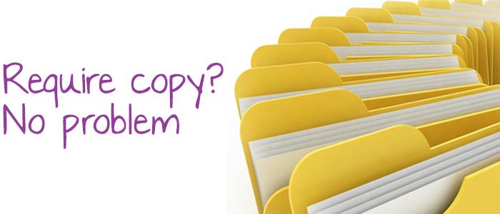 Require copy? Not a problem