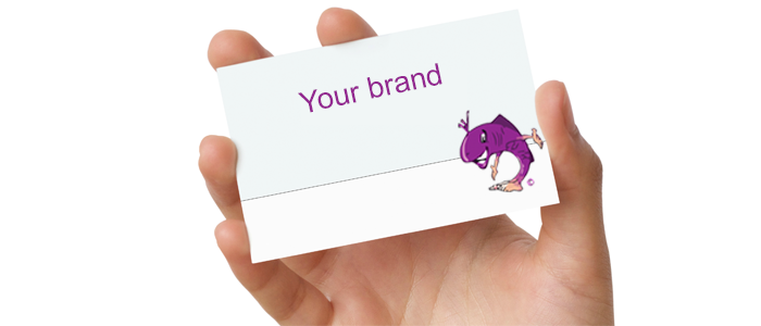 your business card needs to show your brand