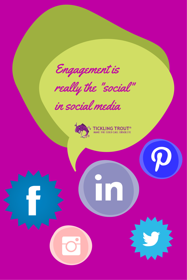 Engagement is really the -social- in social media
