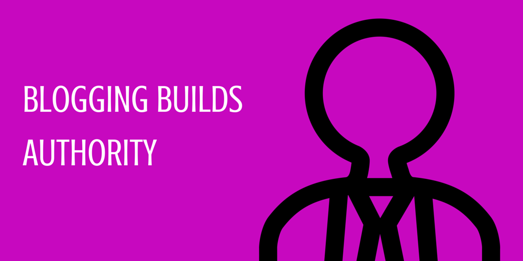 builds authority in your industry