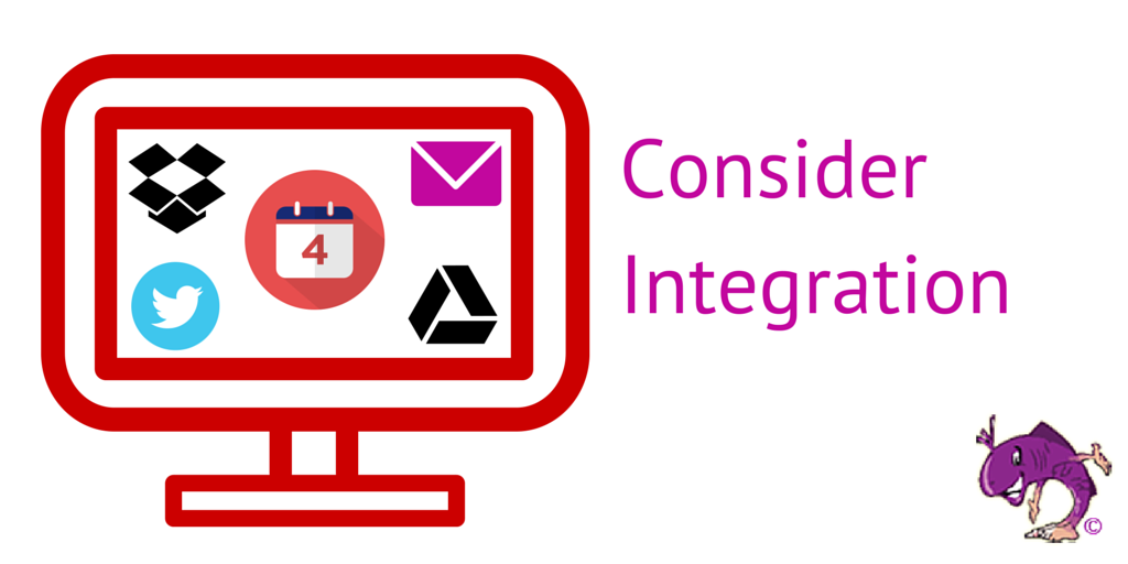 consider how your CRM will integrate with your other systems