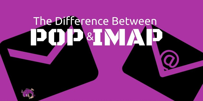 The difference between POP and IMAP