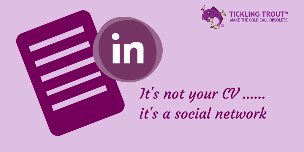 Linkedin is a social network