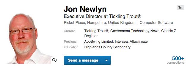 jon newlyn on linkedin