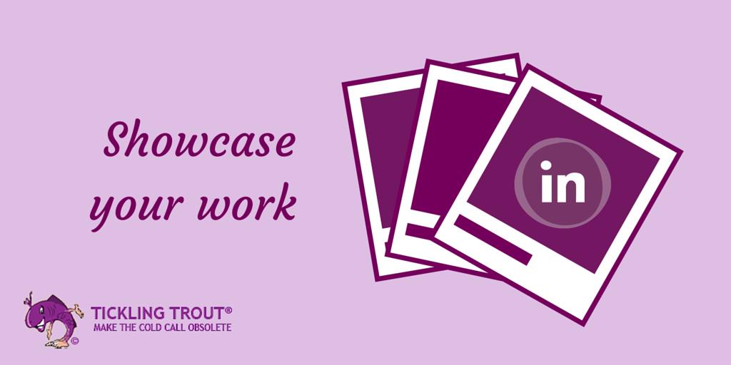 showcase your good work