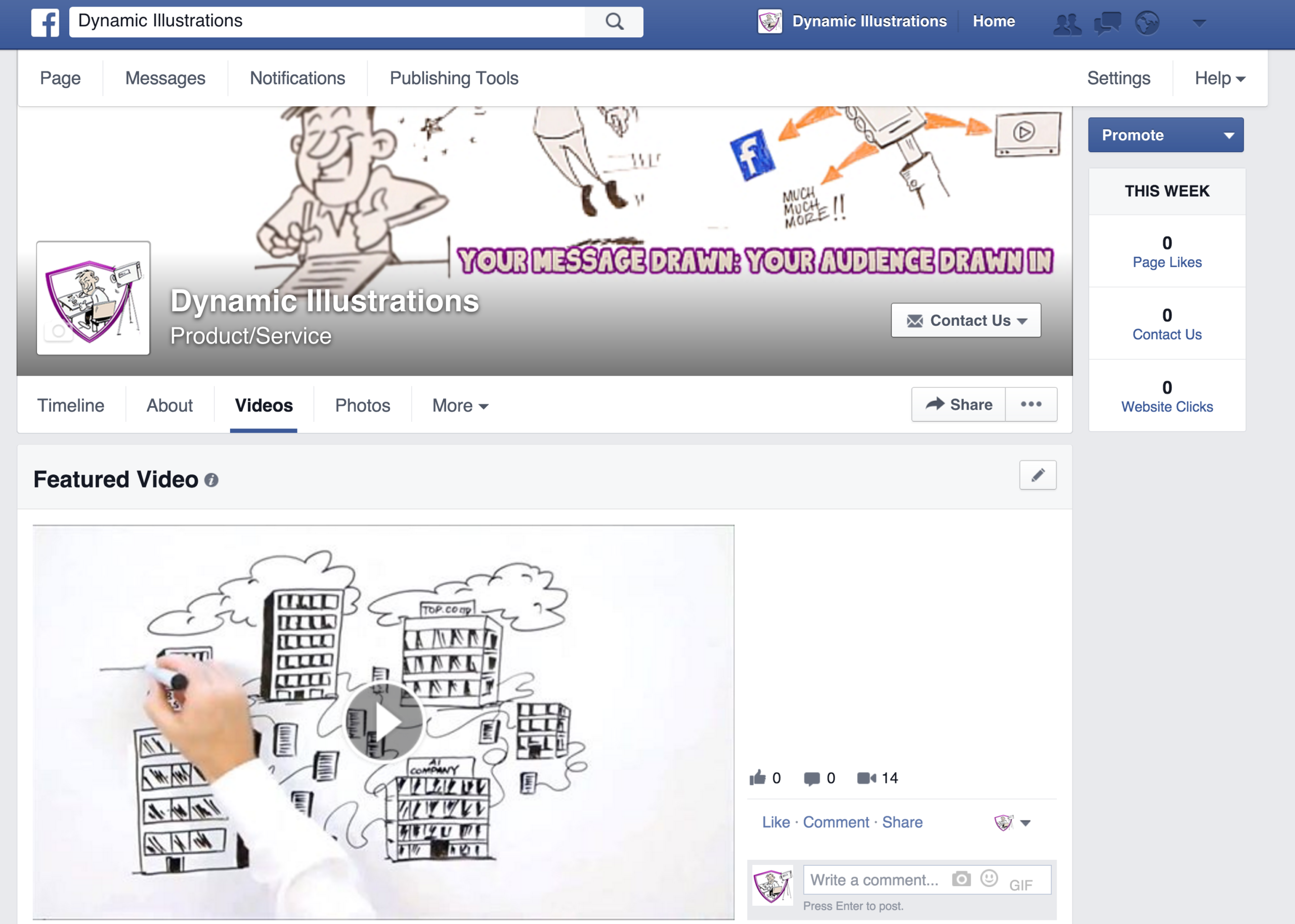 how to add a featured video on facebook