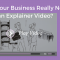 Does Your Business Really Need an Explainer Video-